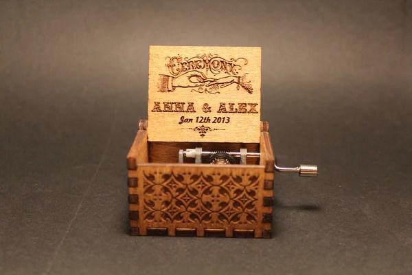 Engraved Wedding Favors