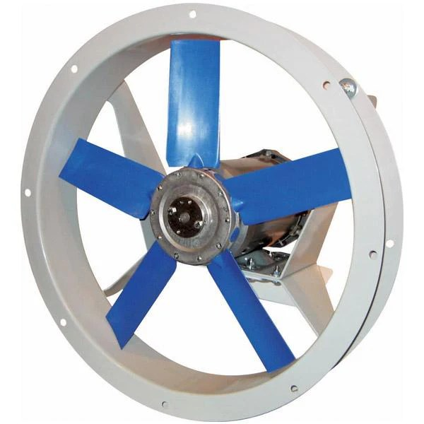 afk flange mounted fan 12 inch 500 cfm 3 phase direct drive choose exhaust or supply