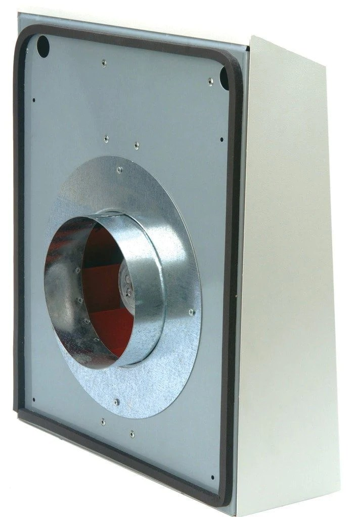 ext external wall mount exhaust duct fan 4 inch 118 cfm ext100a