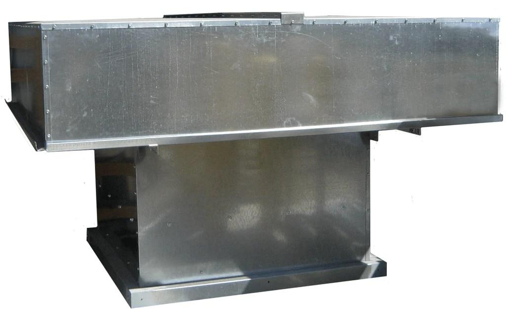 hooded roof exhaust fan 42 inch 13031 cfm hrebc42rh1s