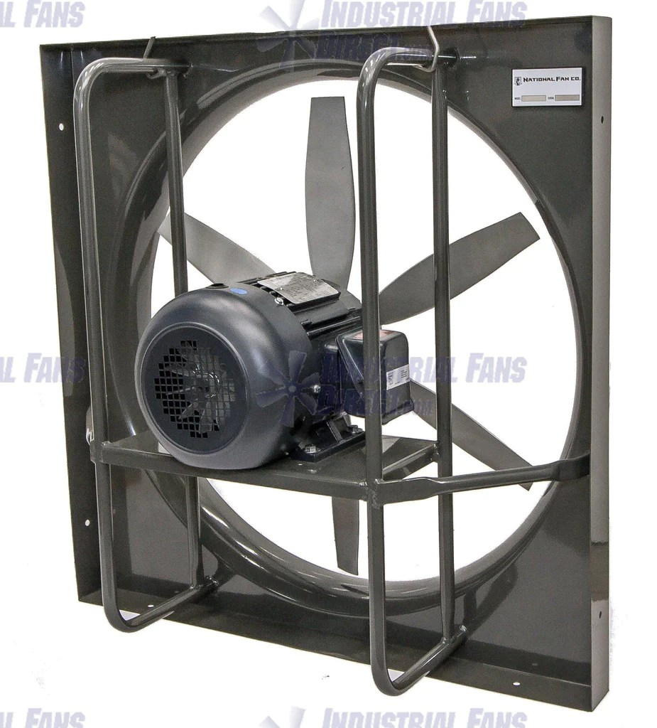 airflo panel explosion proof exhaust fan 36 inch 17620 cfm 3 phase n936l g 3 e