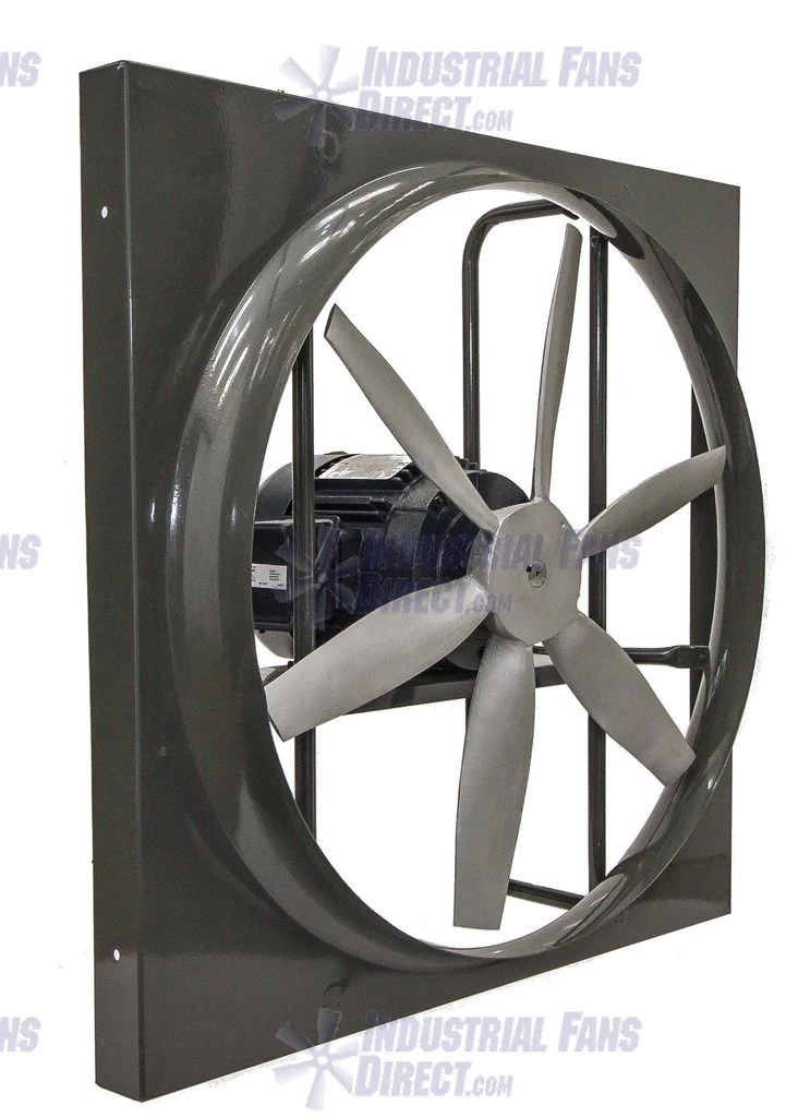 airflo panel explosion proof exhaust fan 24 inch 10500 cfm 3 phase n924 h 3 e