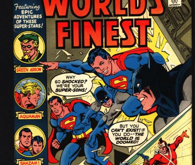 Worlds Finest  Batman V Supermanadam Strange Aquaman Originscaptain Marvel