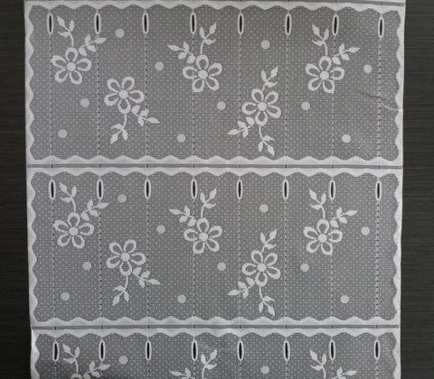 rideaux brise bise de 45 cm de largeur