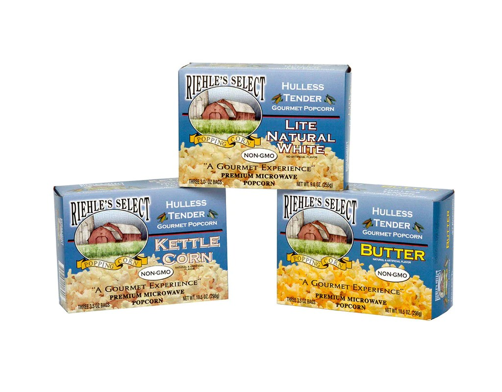 specialty gourmet popcorn riehle s