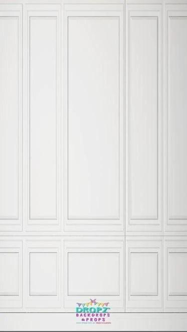 White Panel Wood Wall Background Dropz Backdrops Dropz Backdrops Australia