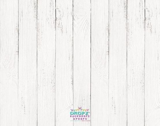 White Wood Photography Backdrop Dropz Backdrops Dropz
