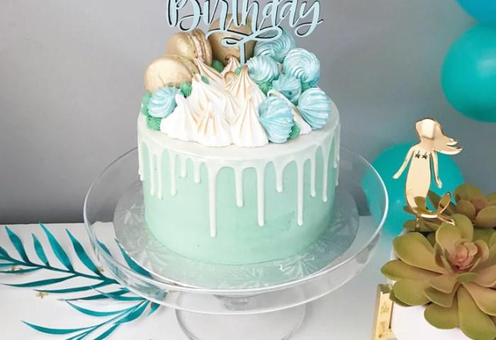 Happy Birthday Cake Topper Justine Ma