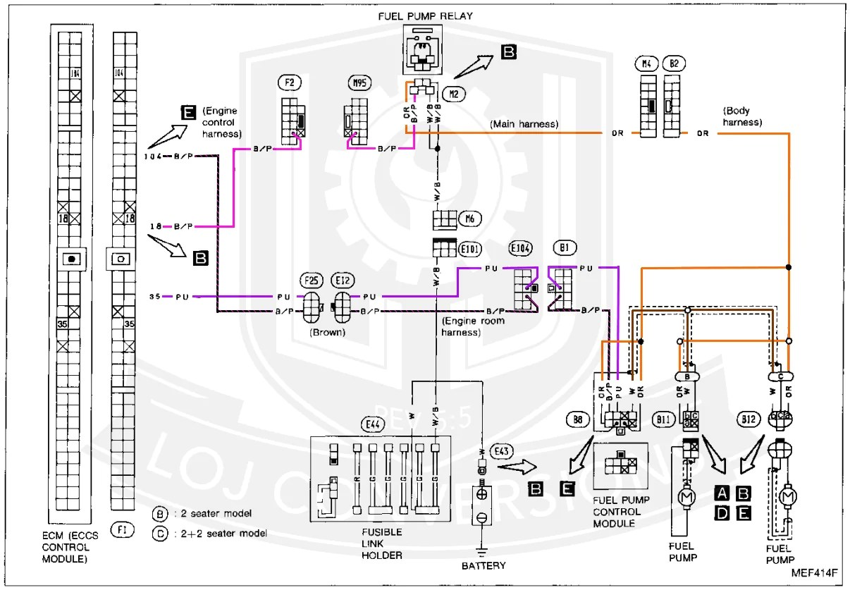 Wiring Harness Color Diagram