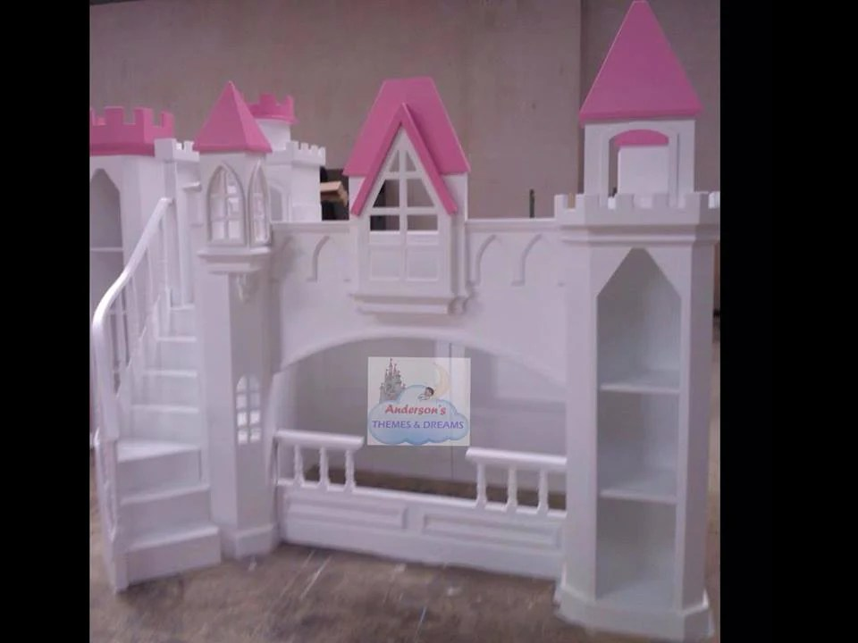 Princess Castle Beds Themed Castle Bunk Bed Andersons