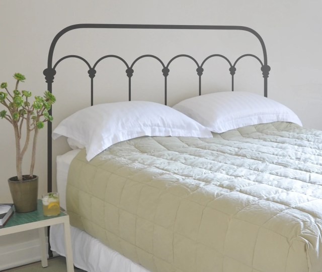 Wrought Iron Headboard  C2 B7 Wrought Iron Headboard
