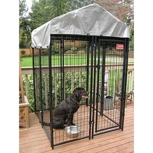 uptown patio modular dog kennels with cover
