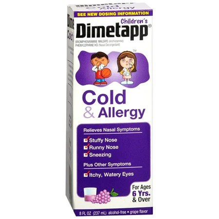 Home » Allergies » Childrens Dimetapp Cold and Allergy Medicine 8 oz