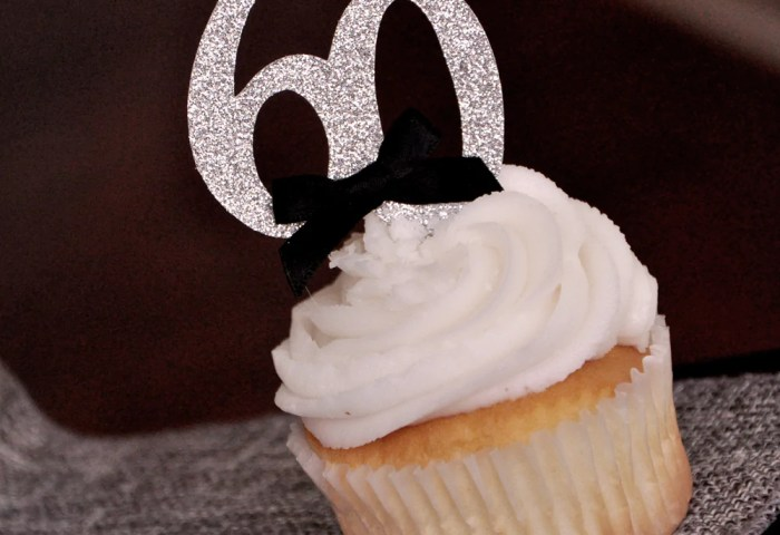 60th Birthday Party Ideas Ships In 1 3 Business Days Number 60
