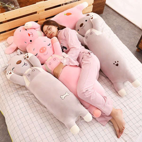 buy plush toy long body pillow bunny