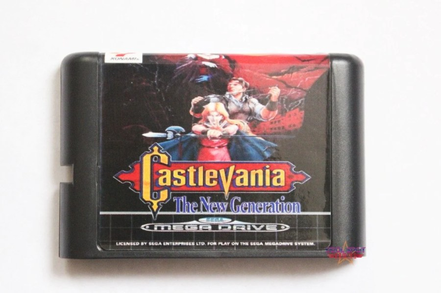 Mega Drive Genesis Games     Cool Spot Gaming Castlevania  Bloodlines The New Generation   Mega Drive Genesis Game    Reproduction