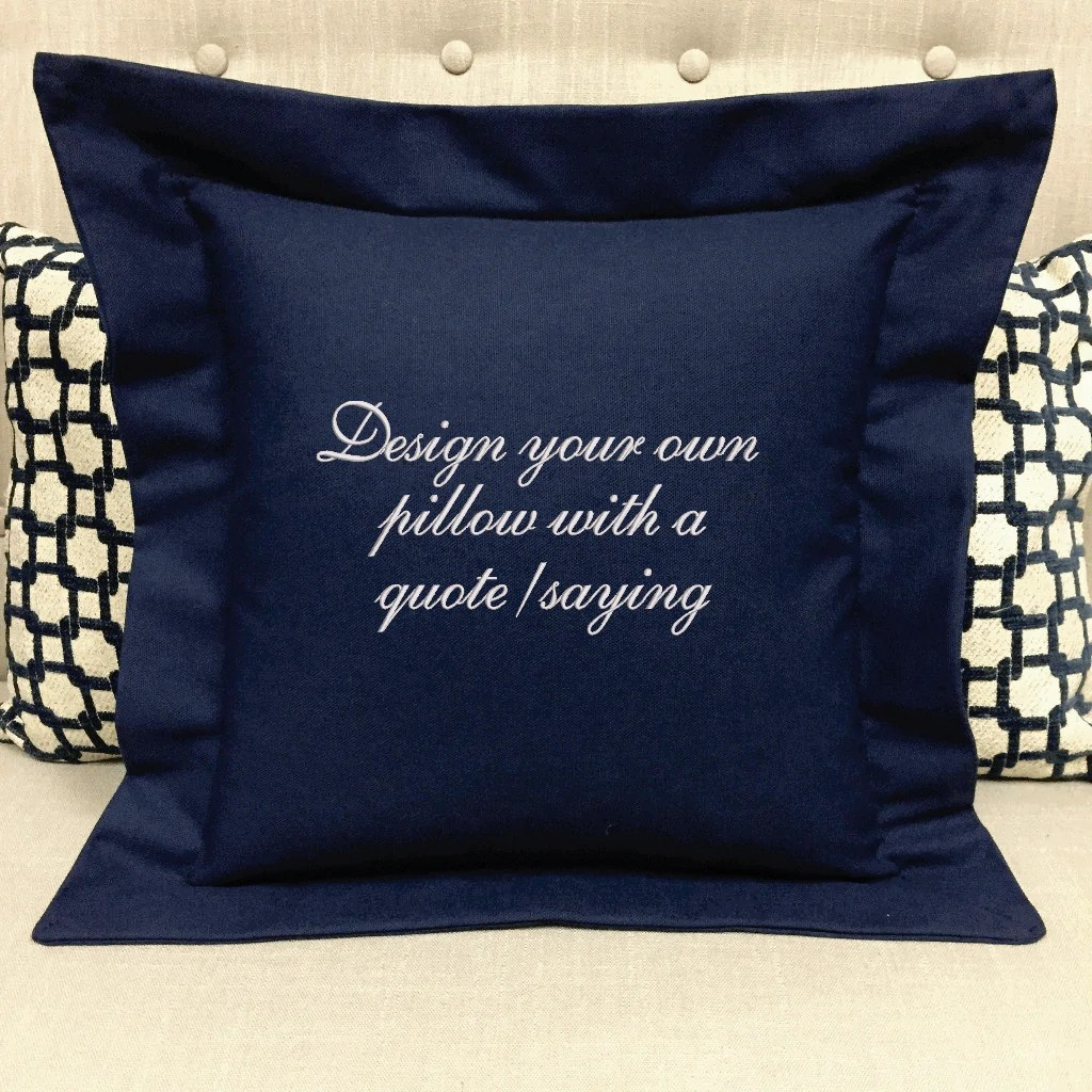 design your own pillow forever pillows