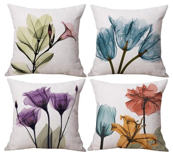 tp62 purple floral throw pillows group by harrington