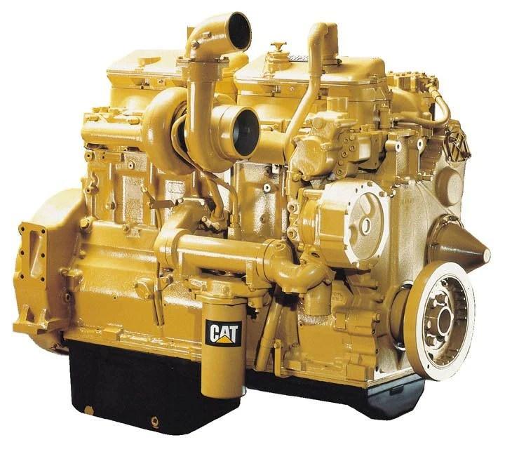 Caterpillar 3406C Marine Auxiliary Generator Set Parts