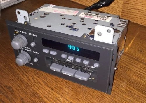 94 95 96 97 Chevrolet S10 Blazer GMC Jimmy Radio Cassette Player 16194 – OEMRADIOS