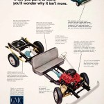 1966 Ad Gmc Chassis Truck Pickup Automobile Vehicle Motor Car Transpor Period Paper