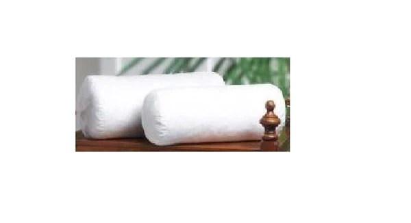 20x6 bolster neckroll pillow insert