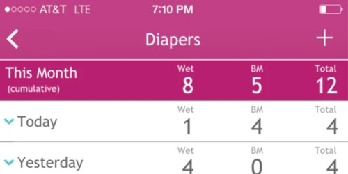 breastfeeding app