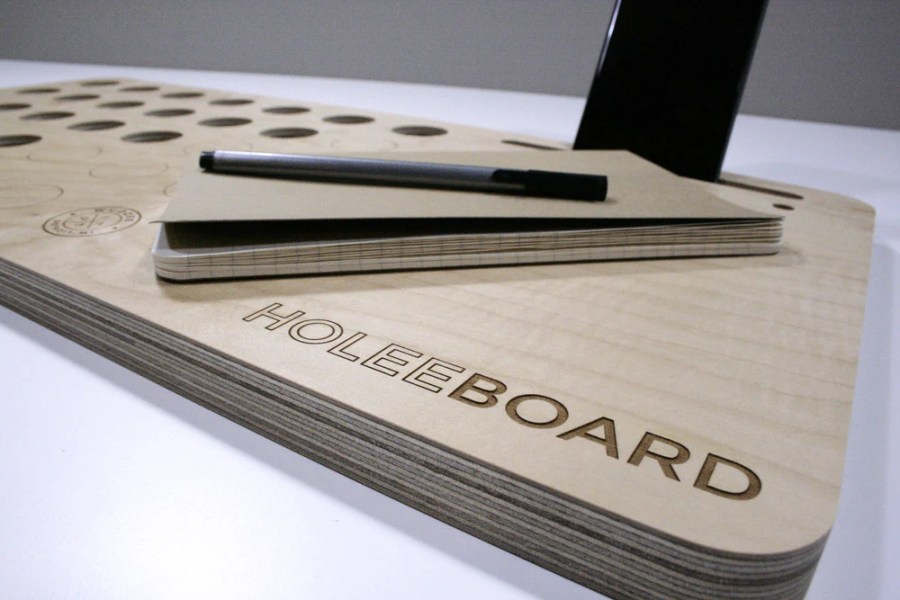 The HoleeBoard Lap Desk and Laptop Stand   Wudzee     The HoleeBoard Lap Desk and Laptop Stand