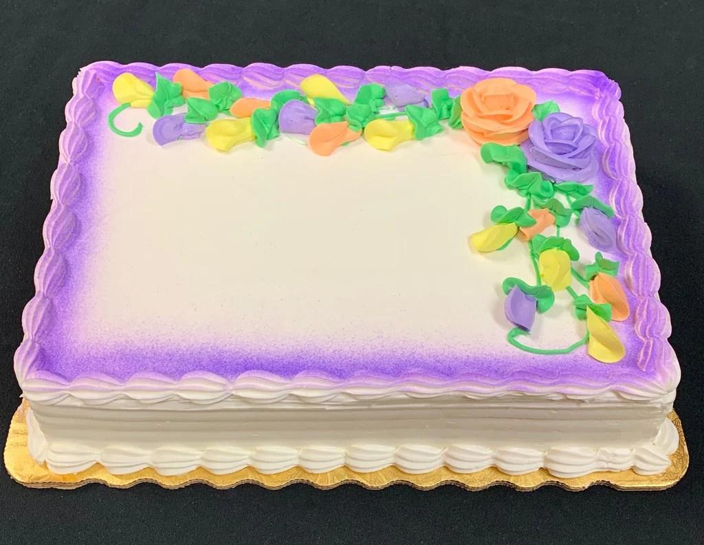 Custom Half Sheet Cake La Bon Bake Shoppes