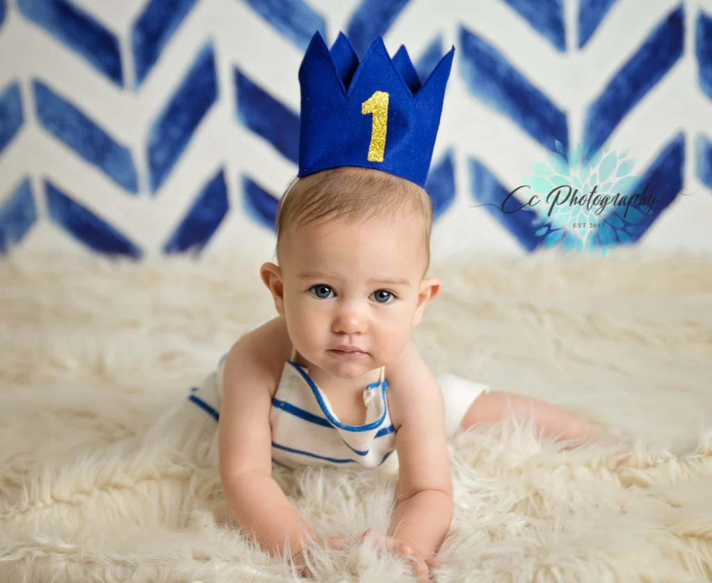 Blue Birthday Boy Crown 1st Birthday Crown Super Capes And Tutus