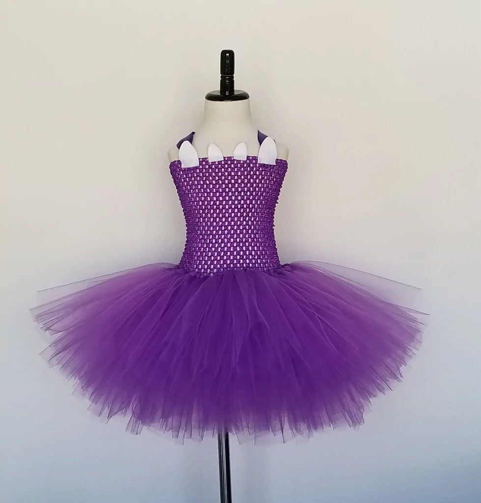 Monster Tutu Dress With Eyes And Hair Headband Super Capes And Tutus
