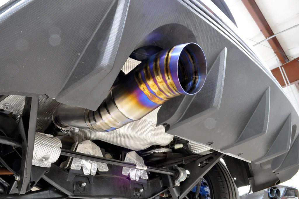 tune titanium single exit catback for 2016 ford focus rs