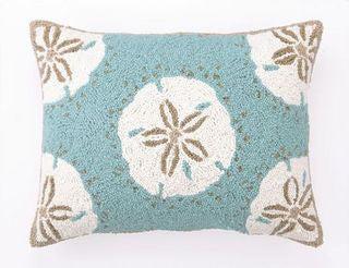 destin sand dollars oblong pillow
