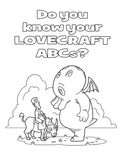 Gambar C Is For Cthulhu Coloring Book Jpeg Png Gif - Best Pictures