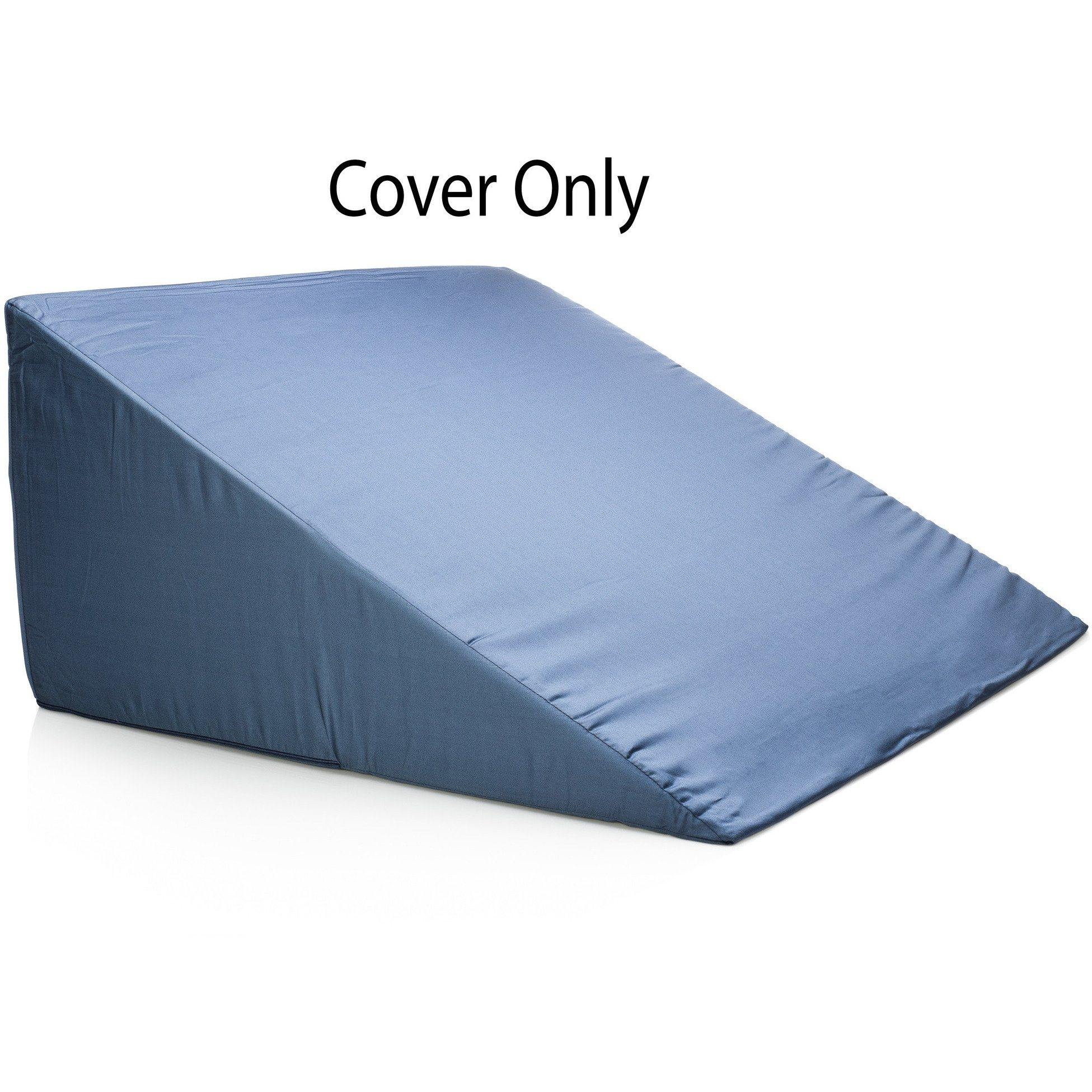 bed wedge pillow case cover