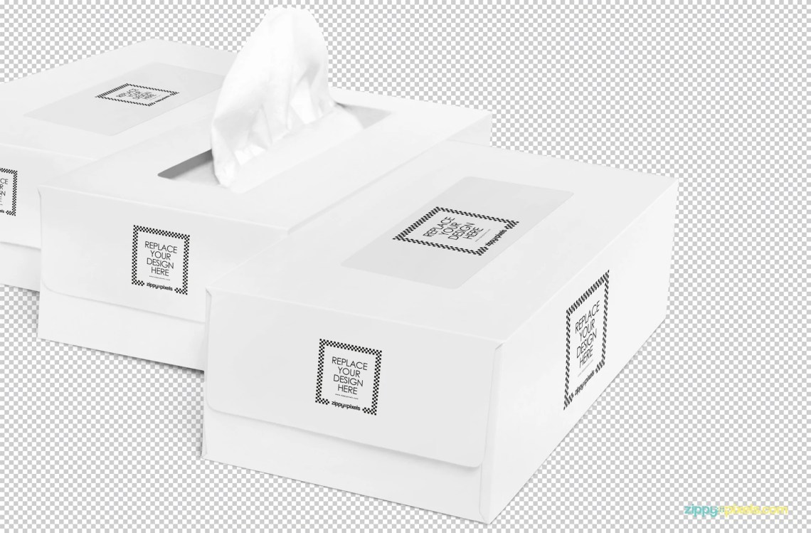 Download Free Luxury Tissue Box Mockup - CreativeBooster