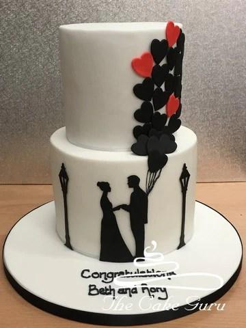 Engagement Cakes The Cake Guru