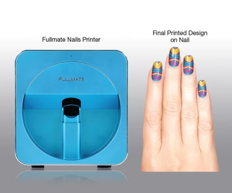 Ghana Has Launched A Digital Nail Printer In Accra The Is State Of Art Equipment That Prints Any Image Design Or Photo