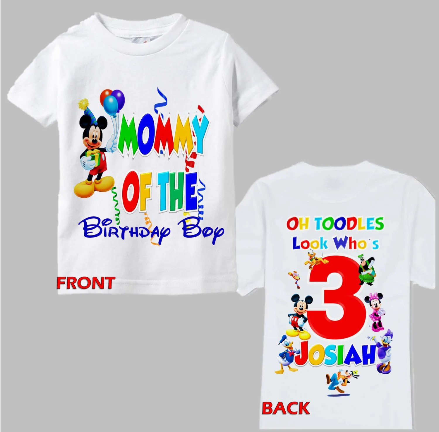 Mickey Mouse 1st Birthday Shirt Shop Clothing Shoes Online