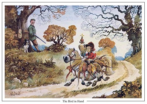 The Bird In Hand By Norman Thelwell A5 Shooting And