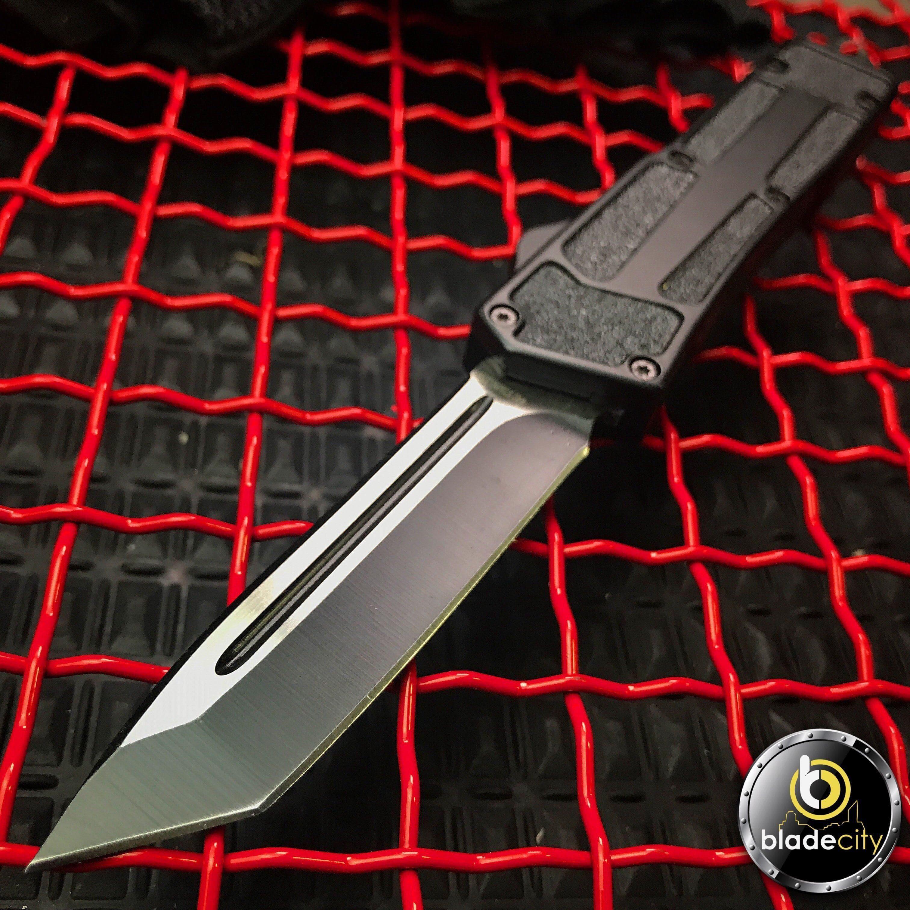 otf knife black enforcer otf lightning edition