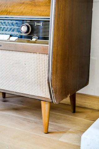 meuble hifi vintage telefunken