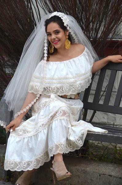 Mexican Wedding Dress Maxi Boho Hippie Draped Sheer Off