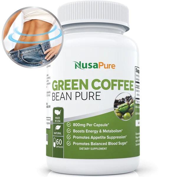 Green Pure Cvs Bean Coffee