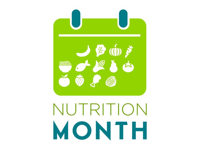 Custom Nutrition Month Icon Banner 48