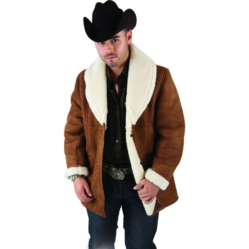 Scully Shearling Coat Men