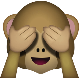 Image result for see no evil émoji