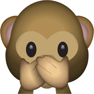Image result for speak no evil émoji