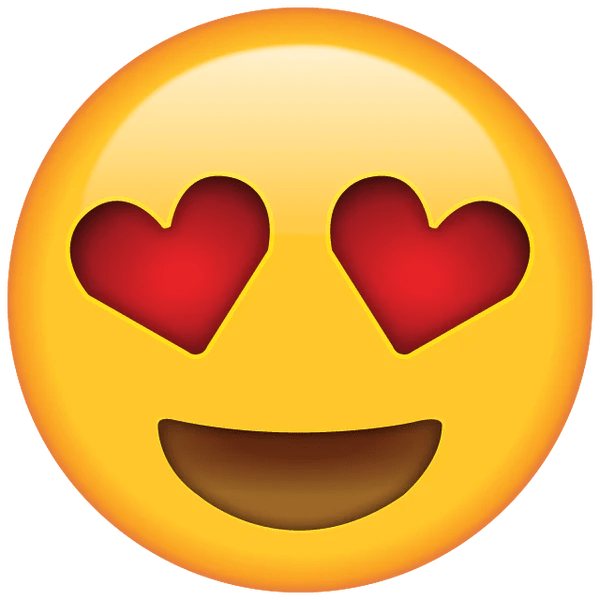 Image result for emoji with heart eyes