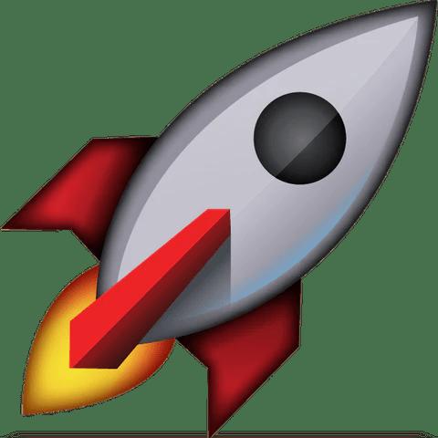 download rocket emoji Icon